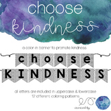 Color In Kindness Banner