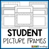 Color In Picture Frames for Parent/Student Gifts