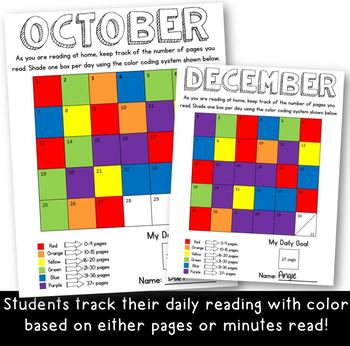 New Years 2019- New Year, New Log- Color It: A NEW Take on the Daily Reading Log