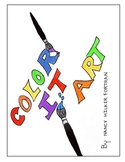 Color It Art: Visual Art Printable's: Art Elements, Principles, Media & Subjects