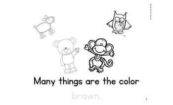 Color It... Brown!