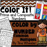 Color It! Color By Number Prime and Composite Numbers Comm