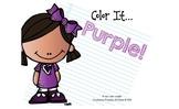 Color It... Purple!