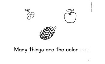 Color It... Red!
