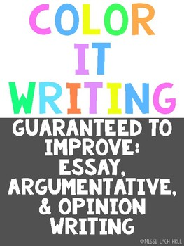 Color It Writing