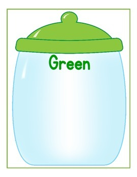 Color Jars Sorting  Game {Activity Pages Included}
