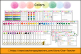 Color Journal / Color chart / Color therapy / Color meanin