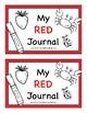 Color Journals--PreK, Kindergarten