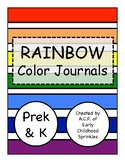 Color Journals--PreK, Kindergarten