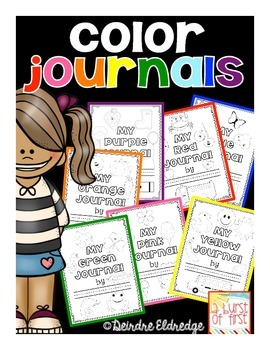 """Color Journals- Writing Through the """"Wr""""ainbow!"""