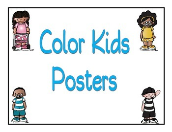 Color Kids Posters