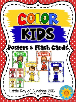 Color Posters & Flash Cards