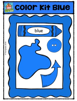 Color Kit Blue {P4 Clips Trioriginals Digital Clip Art}