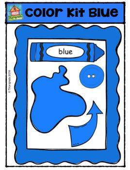 Color Kit Blue {P4 Clips Trioriginals Digital Clip Art}