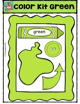 Color Kit Green {P4 Clips Trioriginals Digital Clip Art}