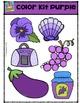 Color Kit Purple {P4 Clips Trioriginals Digital Clip Art}