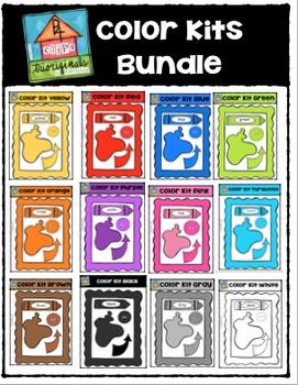 Color Kits Bundle {P4 Clips Trioriginals Digital Clip Art}