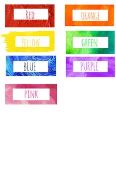 Color Labels