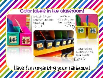 Bilingual Color Labels