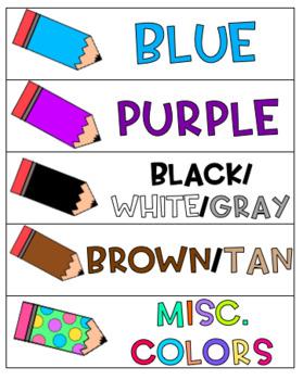 Color Labels FREEBIE!