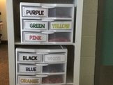 Color Labels for Classroom