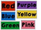 Color Labels for Storage Bins