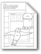 Color/Learn: Hummingbird