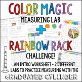 Graduated Cylinder Practice Liquid Volume Measuring Lab : Color Magic