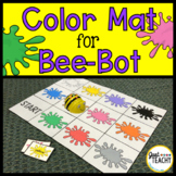 Color Mat for Bee Bot Coding Robot
