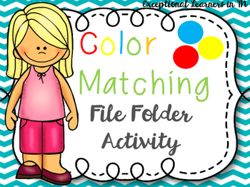 File Folder Activity: Colors