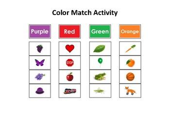 Color Match Activity
