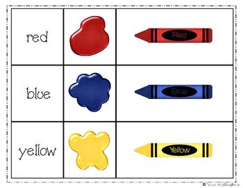 Color Match Cards