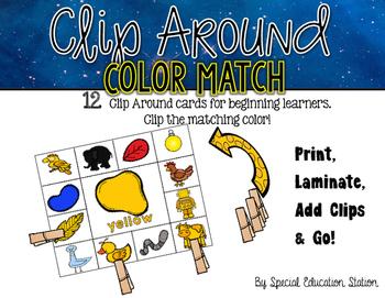 Color Match Clip Arounds