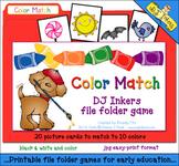 Color Match File Folder Game Download