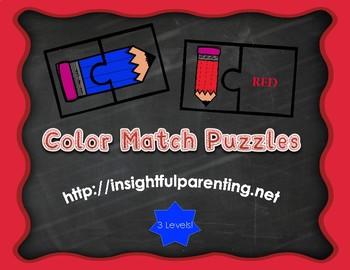 Color Match Puzzles
