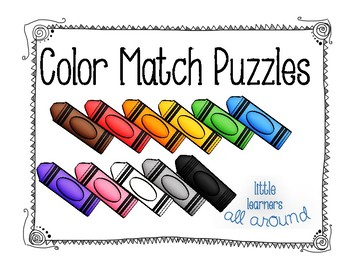 Color Match Puzzles