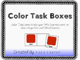 Color Match Task Cards