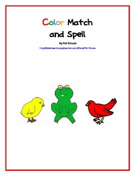 Color Match and Spell Game