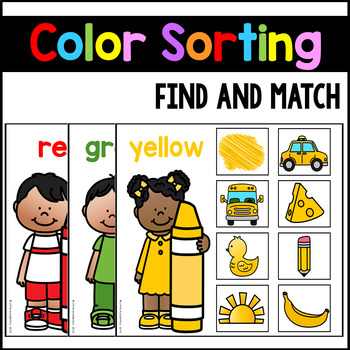 Color Matching Activities - Color Sorting Mats