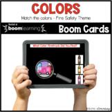 Color Matching BOOM CARDS™ Digital NO PREP