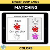Matching Colors BOOM CARDS