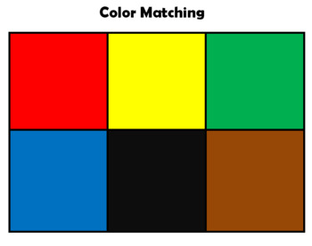Color Matching Boards