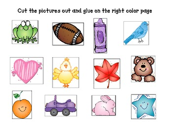 Color Matching Book