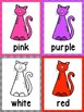 Color Matching Cards -Cats