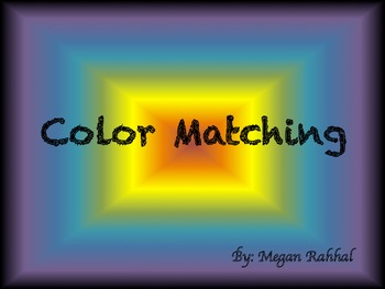 Color Matching Centers/Card Game
