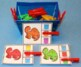 Color Matching Clip Cards & Color Words Clip Cards - Dinosaurs