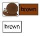 FREE Color Matching File Folder - Snail Theme