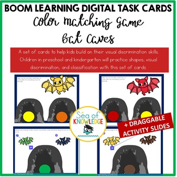 Color Matching Game Bat Caves Boom Digital Slides By Sea Of Knowledge
