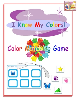 Color Matching Game... Ready, Set, Match!