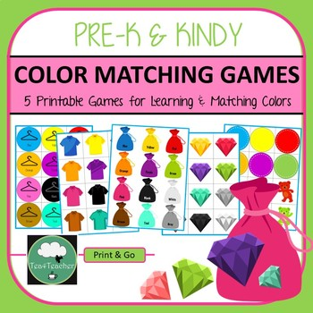 Color Games Match Learn and Sort Colors
